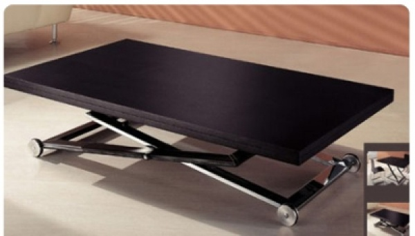 Table basse transformable - Table de salon transformable ...