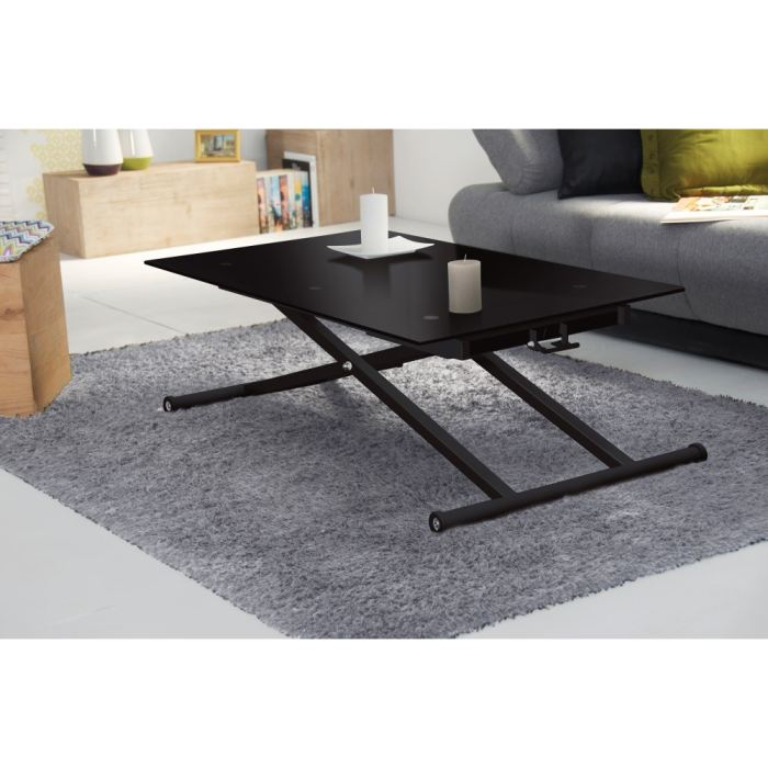 table basse up and down noir. Black Bedroom Furniture Sets. Home Design Ideas