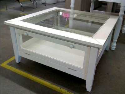 Exemple Table Basse Vitrine