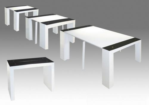 table console a rallonge. Black Bedroom Furniture Sets. Home Design Ideas