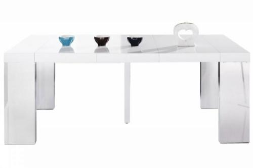 Table console laque blanc - Table console blanc laque ...