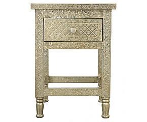 table de chevet orientale. Black Bedroom Furniture Sets. Home Design Ideas