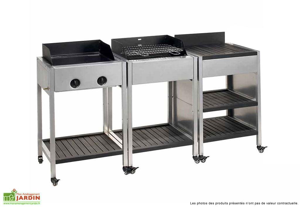table desserte barbecue. Black Bedroom Furniture Sets. Home Design Ideas
