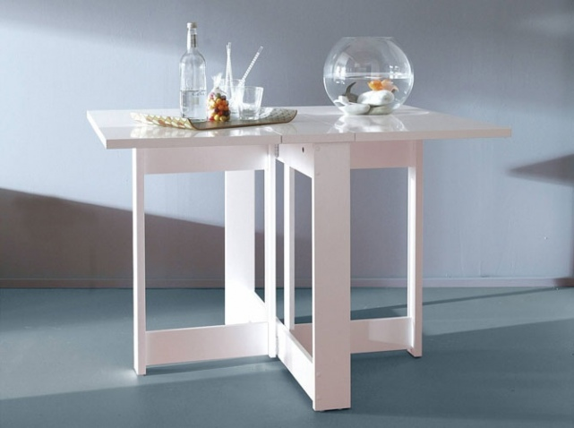 Exemple table desserte pliante ikea for Table de cuisine pliable