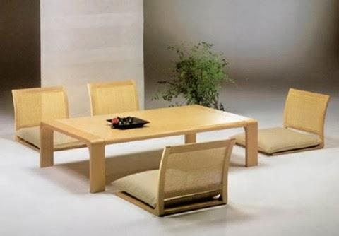 table a manger japonais. Black Bedroom Furniture Sets. Home Design Ideas