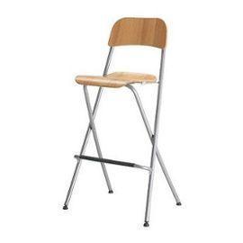 ikea chaise de bar bois