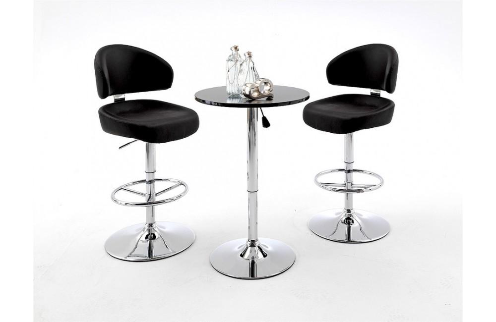 tabouret de bar confortable. Black Bedroom Furniture Sets. Home Design Ideas