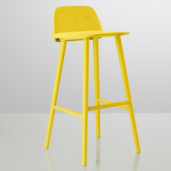 tabouret de bar jaune. Black Bedroom Furniture Sets. Home Design Ideas