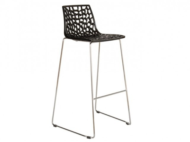 tabouret de bar transparent fly