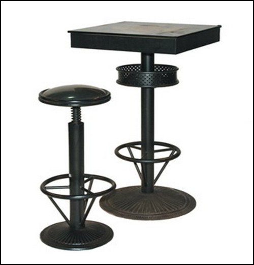 tabouret pour table mange debout. Black Bedroom Furniture Sets. Home Design Ideas