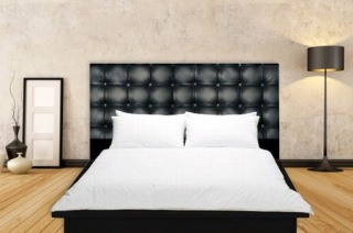 tete de lit king. Black Bedroom Furniture Sets. Home Design Ideas