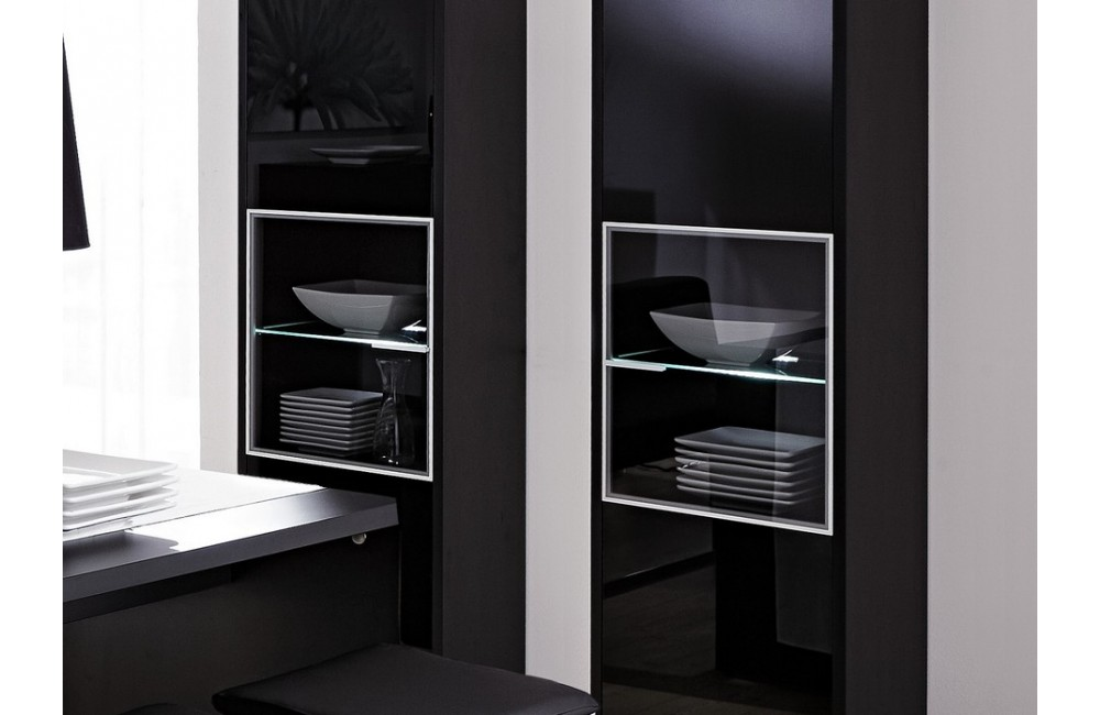 vaisselier noir laque. Black Bedroom Furniture Sets. Home Design Ideas