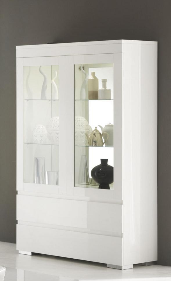 Vaisselier vitrine design - Meuble vaisselier pas cher ...