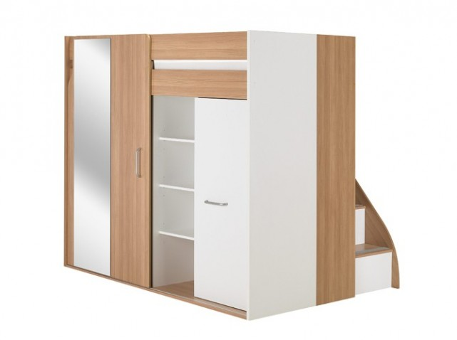 Meuble ikea chambre adulte for Armoire lit escamotable ikea