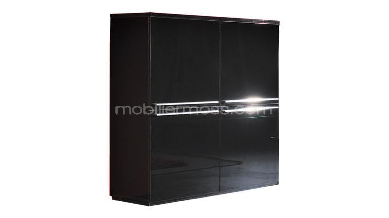 armoire chambre noir laque. Black Bedroom Furniture Sets. Home Design Ideas