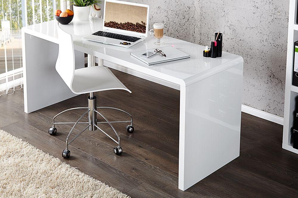idée armoire de bureau blanc laque