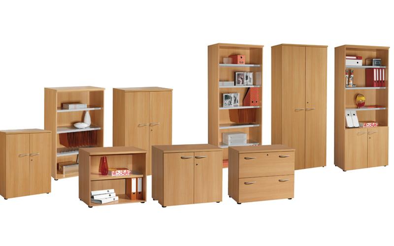 Armoire de bureau en bois for Armoire de salon en bois