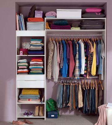 Armoire de chambre castorama for Petite armoire de chambre