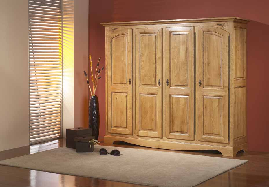 armoire de chambre en chene