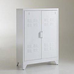 photo armoire de chambre en metal. Black Bedroom Furniture Sets. Home Design Ideas