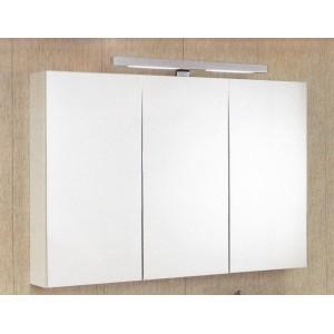 Armoire salle de bain miroir 3 portes for Miroir 3 parties