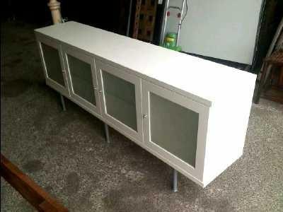 Buffet bas blanc ikea for Buffet serveur meubles ikea