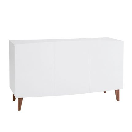 Buffet bas laque blanc fly - Buffet ikea blanc laque ...