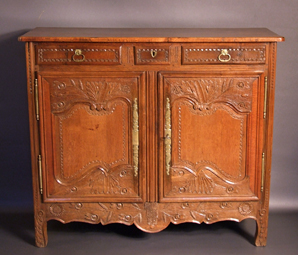 Buffet bas normand ancien - Meuble normand ancien ...