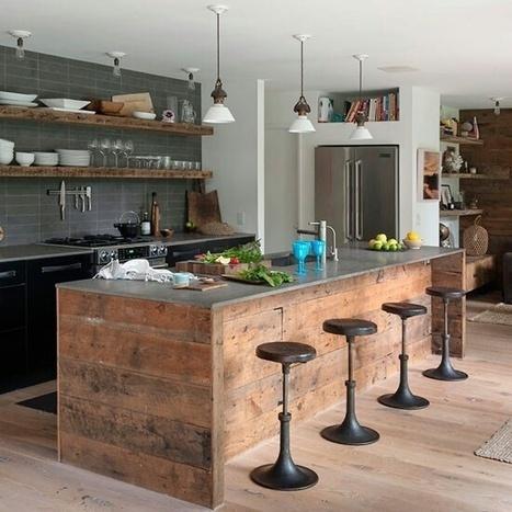 Bekannt de cuisine style industriel VA22