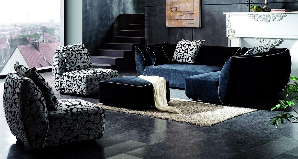 canape d 39 angle haut de gamme tissus. Black Bedroom Furniture Sets. Home Design Ideas