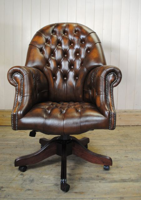 Chaise de bureau chesterfield - Choisir chaise de bureau ...