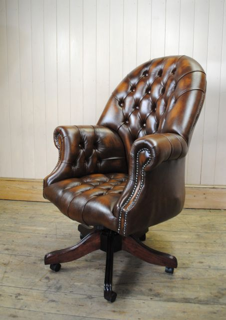 Chaise de bureau chesterfield - Fauteuil de bureau chesterfield ...