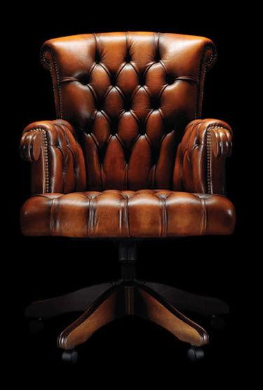 chaise de bureau chesterfield. Black Bedroom Furniture Sets. Home Design Ideas