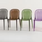 Chaise haute cuisine ou bar, chaise haute design  Mise en Scène