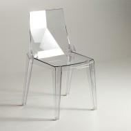 Chaise de salle a manger en plastique Chaise plastique design pas cher