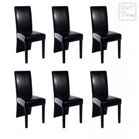 Chaise salle a manger cuir gris - Chaise salle a manger gris ...