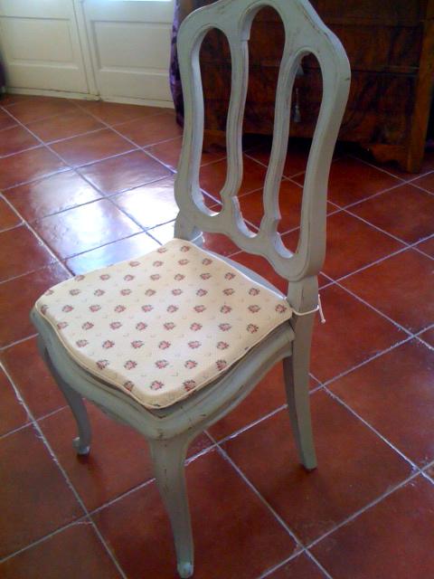 galette de chaise sur mesure en ligne