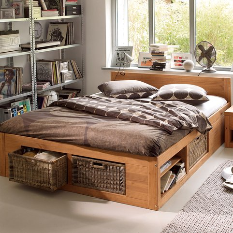 exemple lit 2 personnes osier. Black Bedroom Furniture Sets. Home Design Ideas