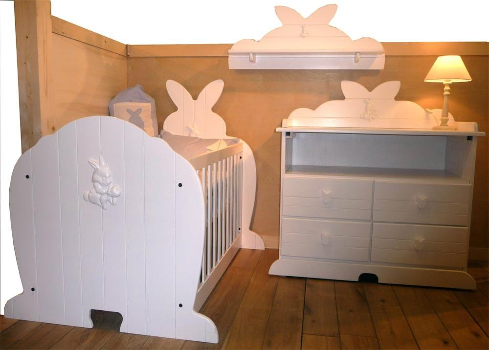 photo lit bebe lapin mobilier maison