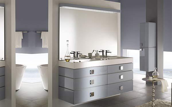 meuble 2 vasques salle de bain design. Black Bedroom Furniture Sets. Home Design Ideas