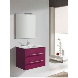 salle de bain fushia