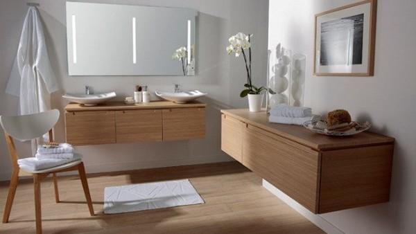 Meuble salle de bain japonais for Carrelage japonais