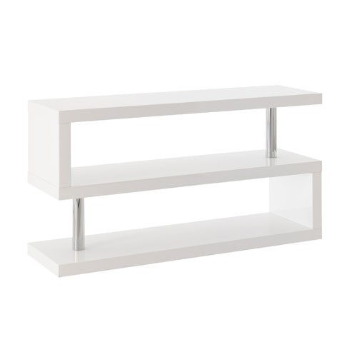 Meuble tv bas blanc laque ikea for Meuble bas tv blanc