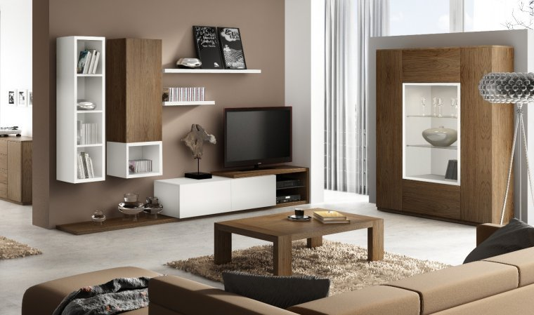meuble tv element haut. Black Bedroom Furniture Sets. Home Design Ideas