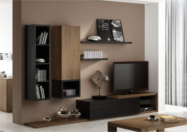 meuble tv element haut