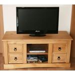 Meuble tv haut en bois - Meuble tv bois massif pas cher ...