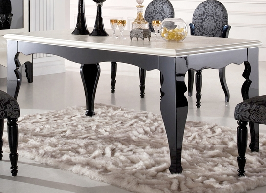 table a manger baroque. Black Bedroom Furniture Sets. Home Design Ideas
