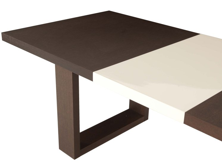 Table salle manger extensible habitat - Table a manger design extensible ...