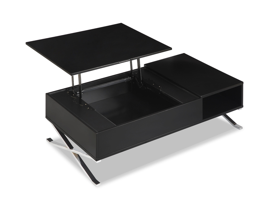 Table Basse Noir Laque Ikea