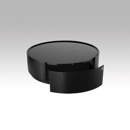 Table Basse Noir Laque Ikea
